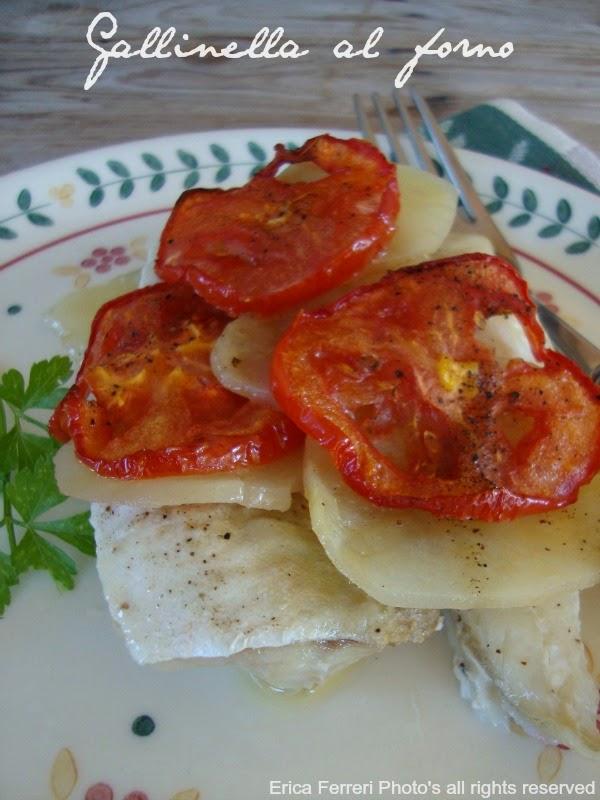 Ogni Riccio Un Pasticcio Blog Di Cucina Gallinella Al Forno Con