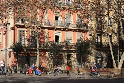 Plaça del Diamant in Vila de Gràcia