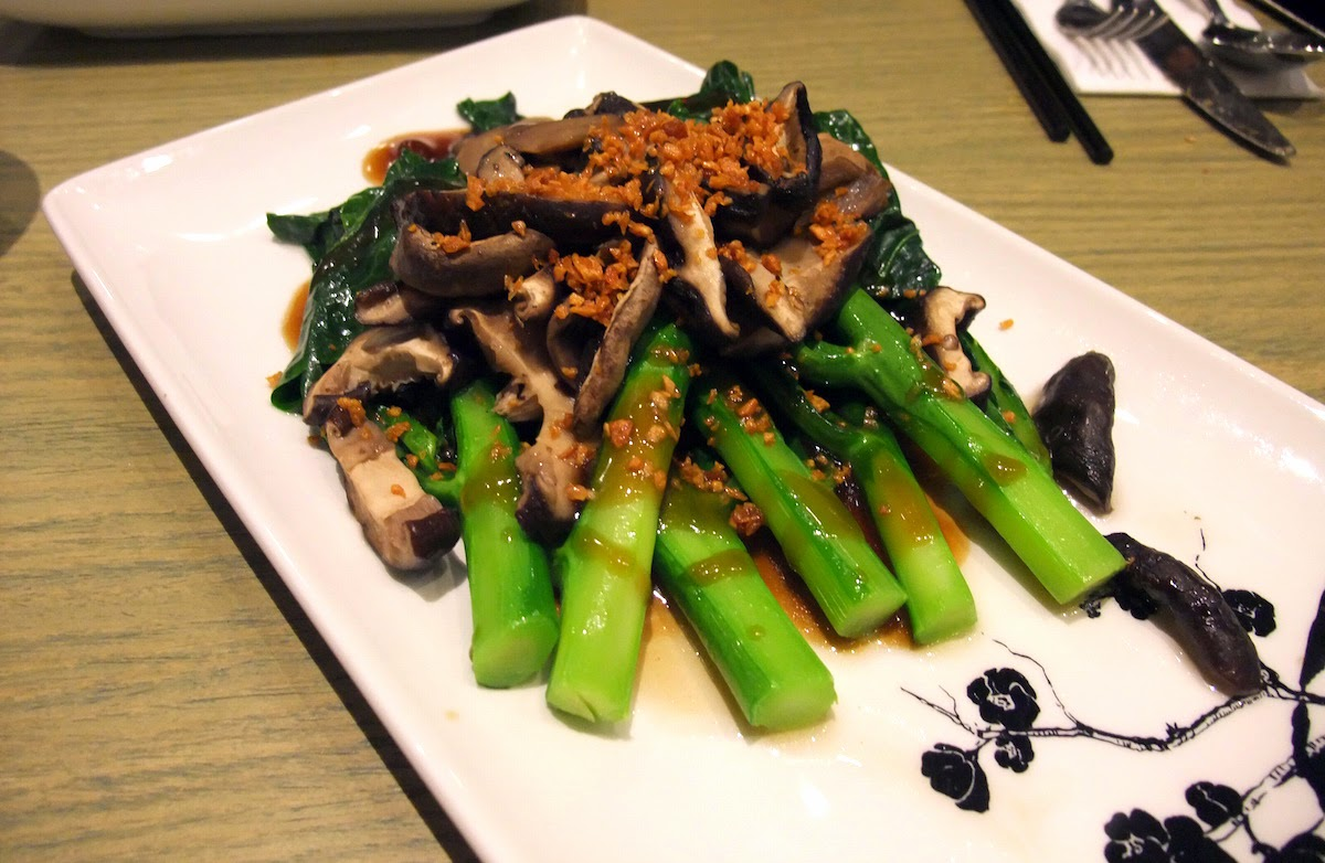 SIFU - Vegetables with mushroom and garlic