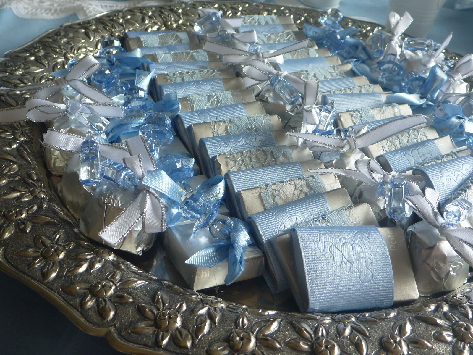 noon baby shower favors