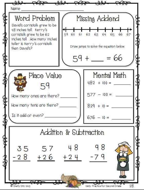 math problems worksheets