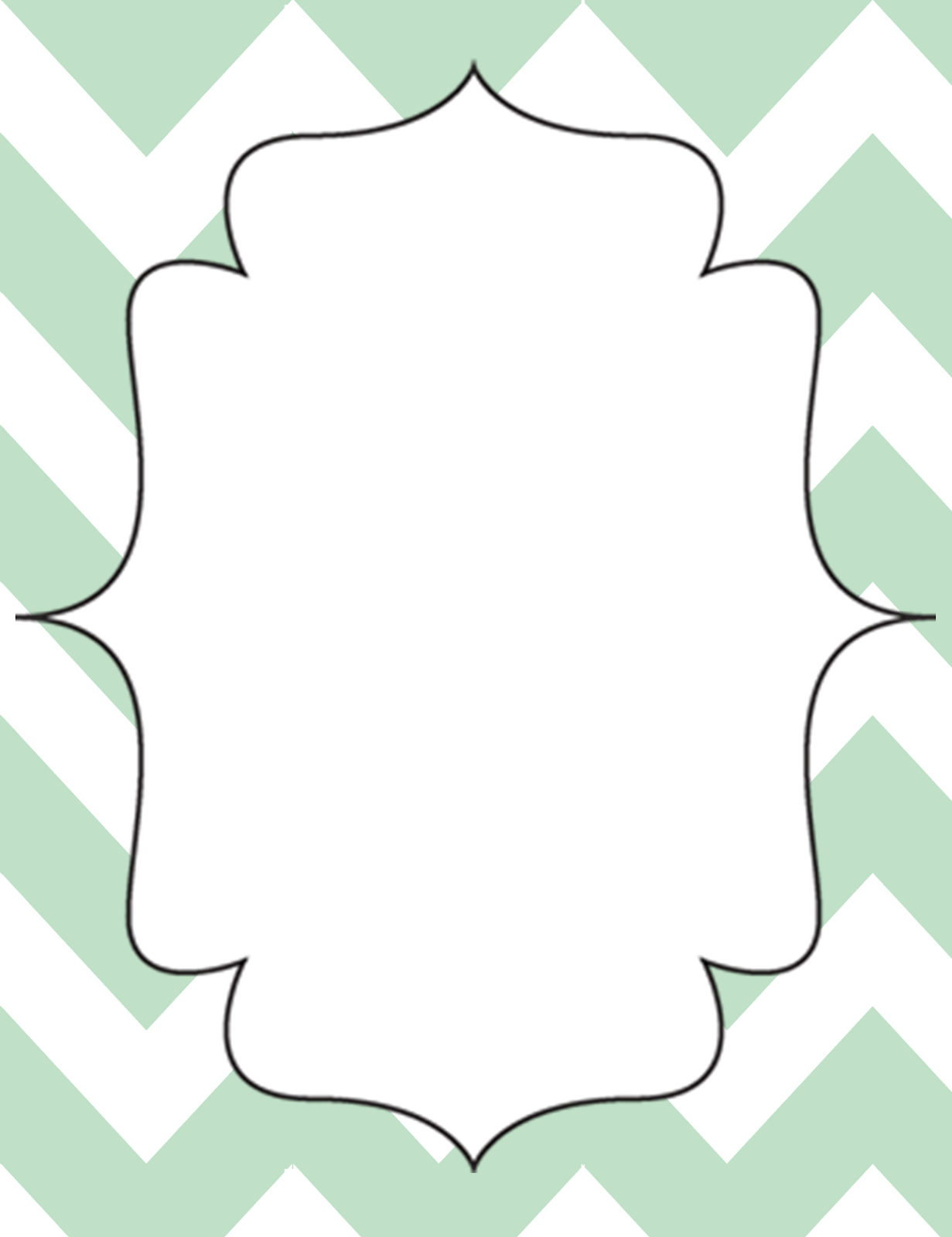 1231 x 1600 png 214kB, Adventures With Firsties: Mint Green Chevron ...