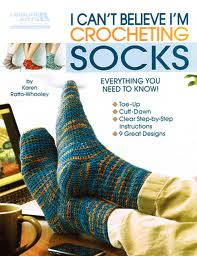 cover of I Can't Believe I'm Crocheting Socks
