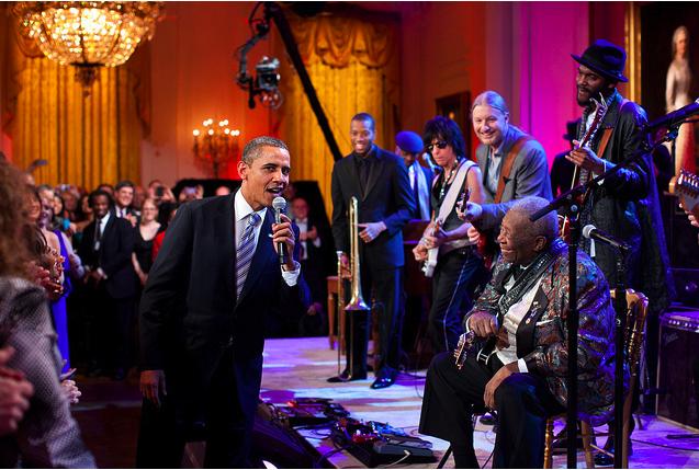 bb king white house party