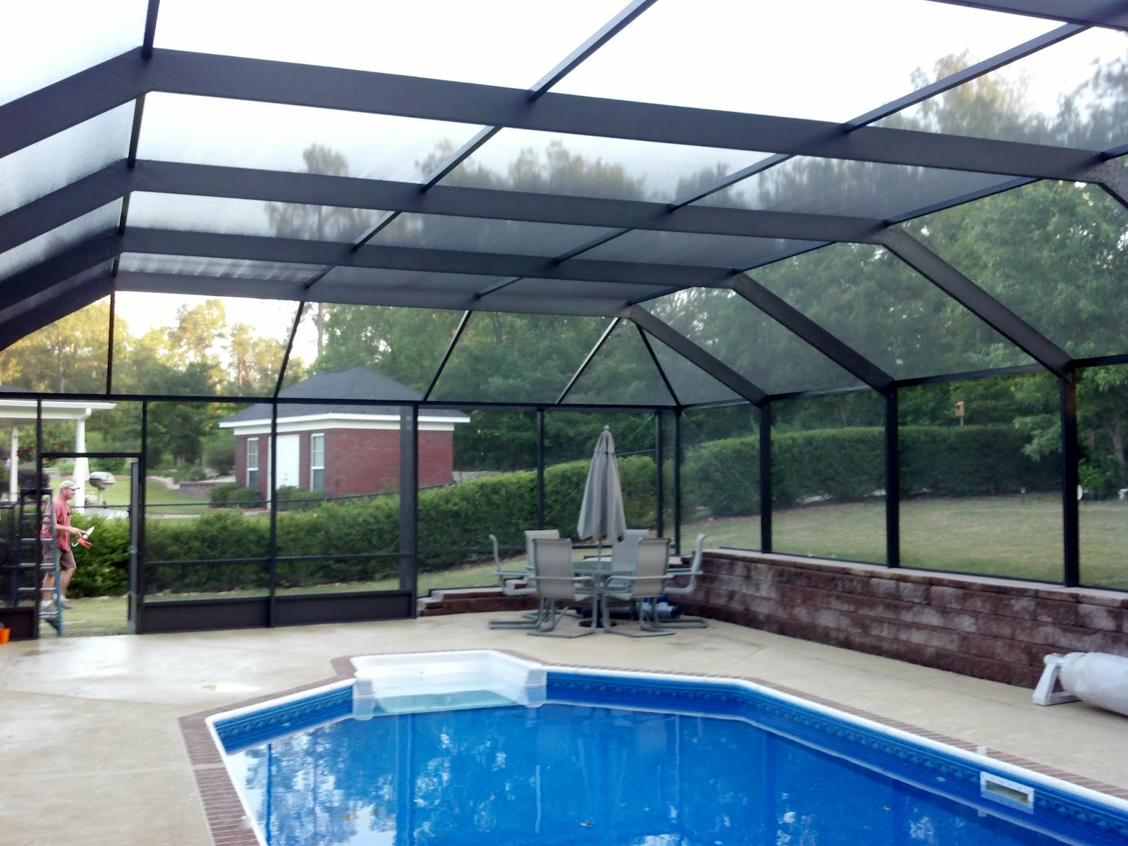 Pool Enclosure Ideas Custom Home Design
