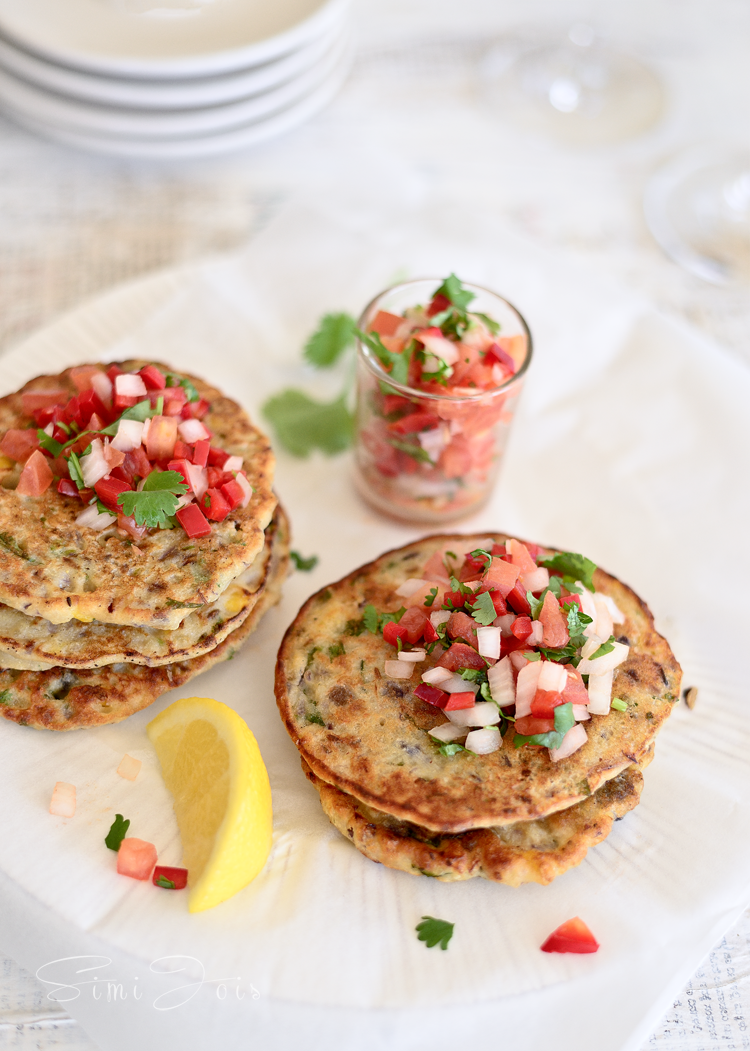 Lentil Quinoa, Fritters Savory, Pancakes, Healthy. Vegan, Simi Jois Photography