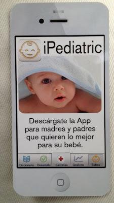 iPediatric app aplicación para niños Pediatria