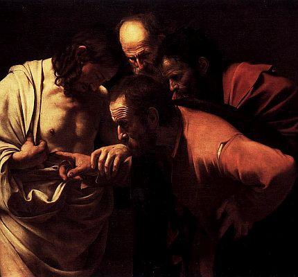Caravaggio's Thomas