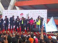 Bipasha Basu at Airtel Delhi Half Marathon 2013