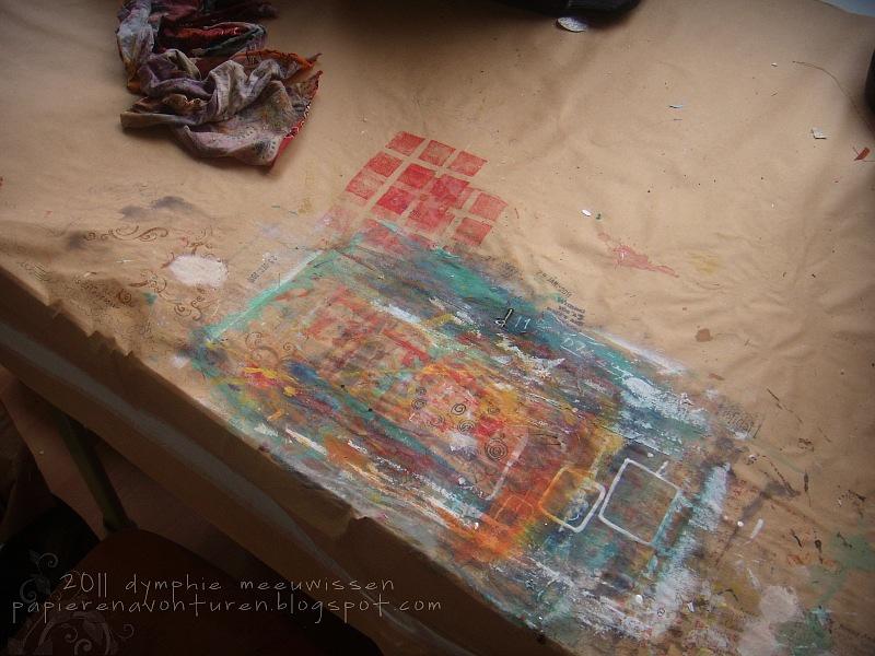 Papieren avonturen february 2011 for Tafel papier