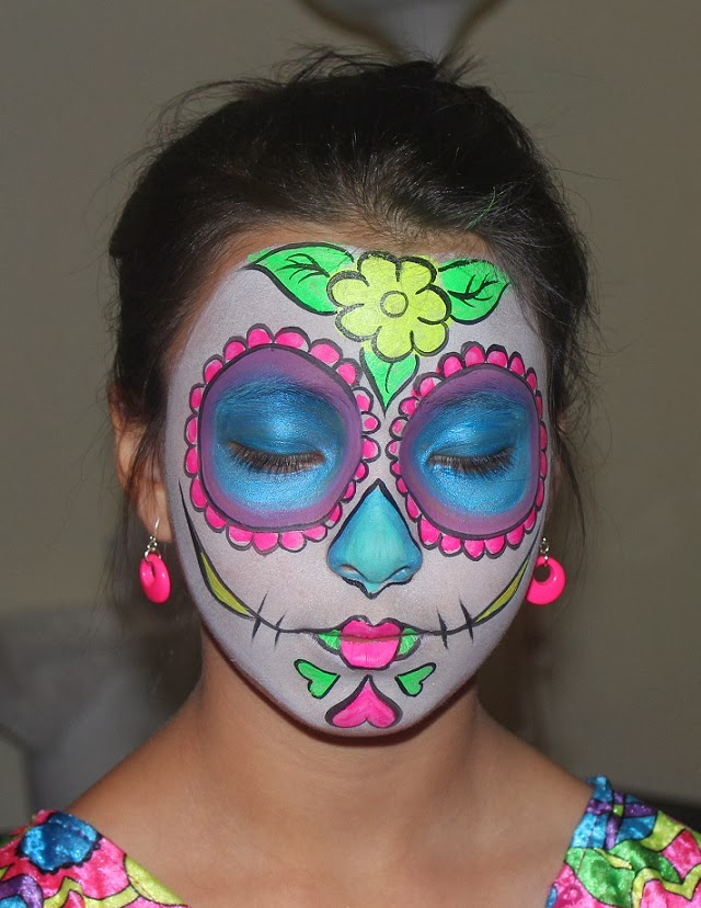 sugar skull make up for halloween? | The Obligatory ...