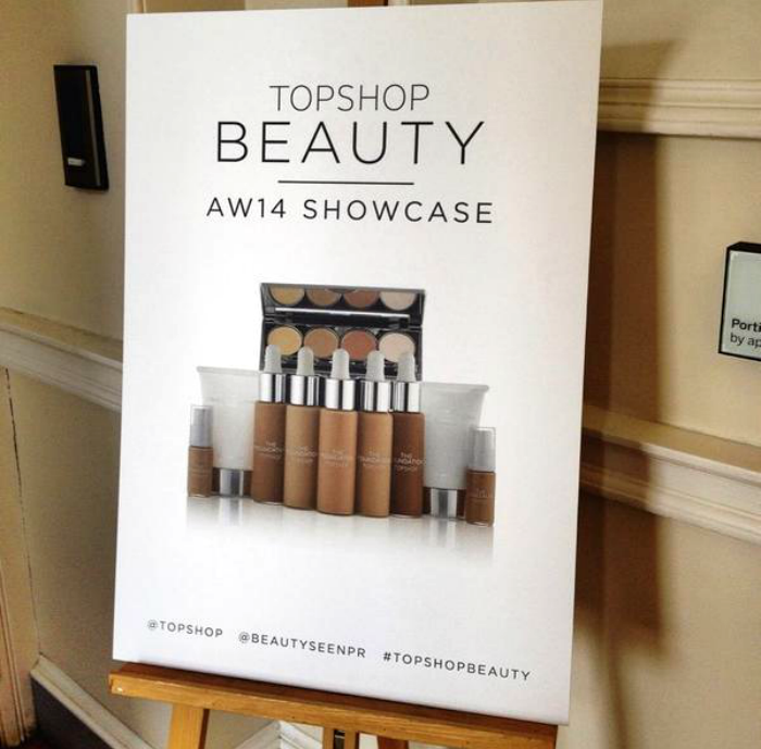 Topshop Beauty AW14 Event