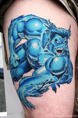 Tatuaje X-Men Bestia