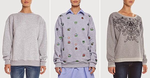 school style -sweater