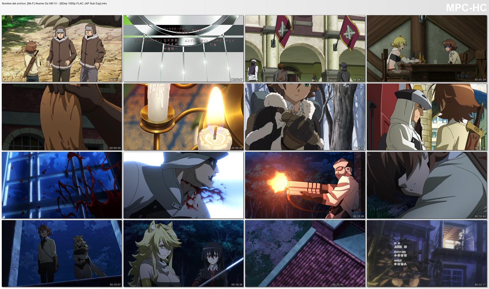 Anime-TéConPastas ([Nk-F] Akame Ga Kill! 1080 Japonés VOSE SubESP MKV)