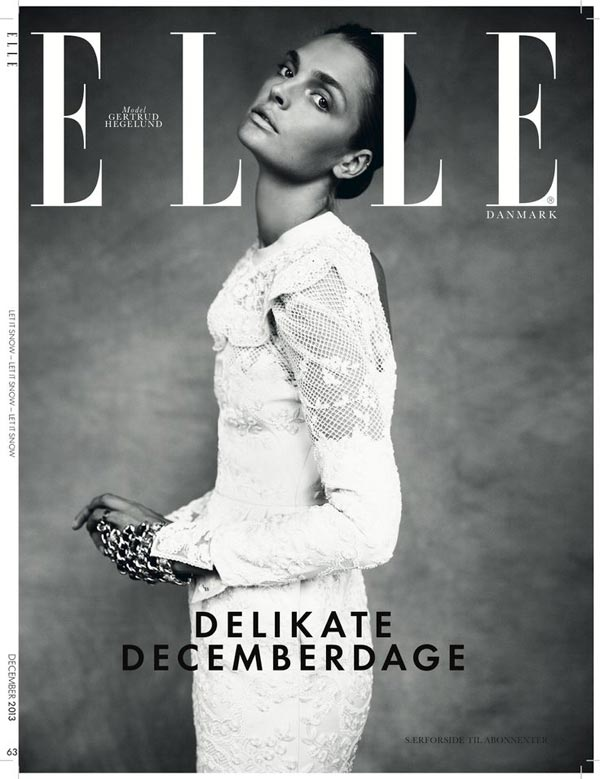 elle denmark december 2013 cover