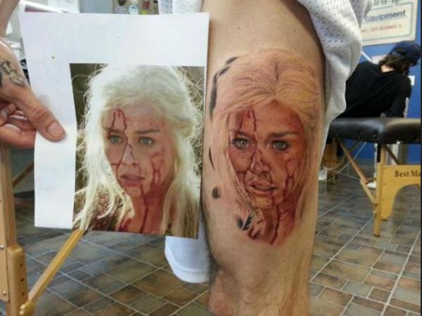 Mundo Curioso Increibles Tatuajes Inspirados En Juego De Tronos