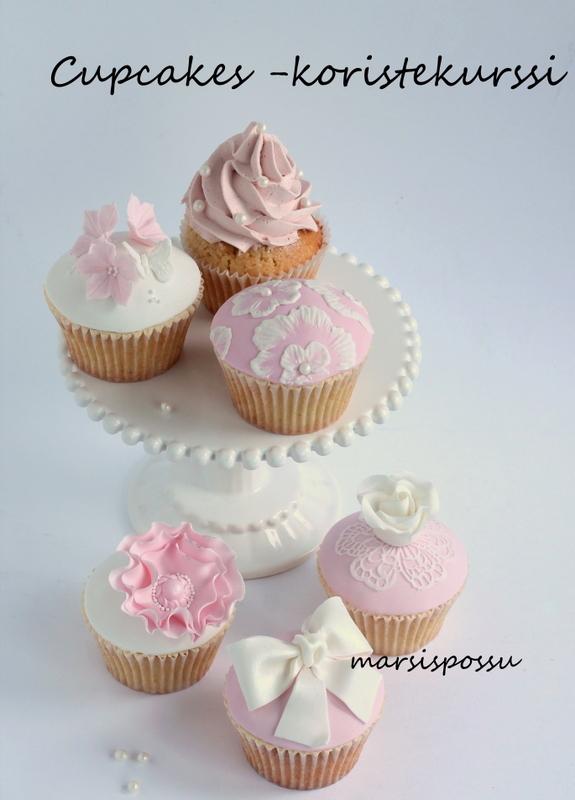 cupcakes -koristekurssi
