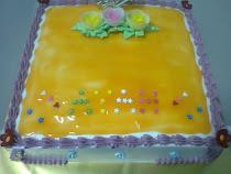 Rainbow Butter Cake