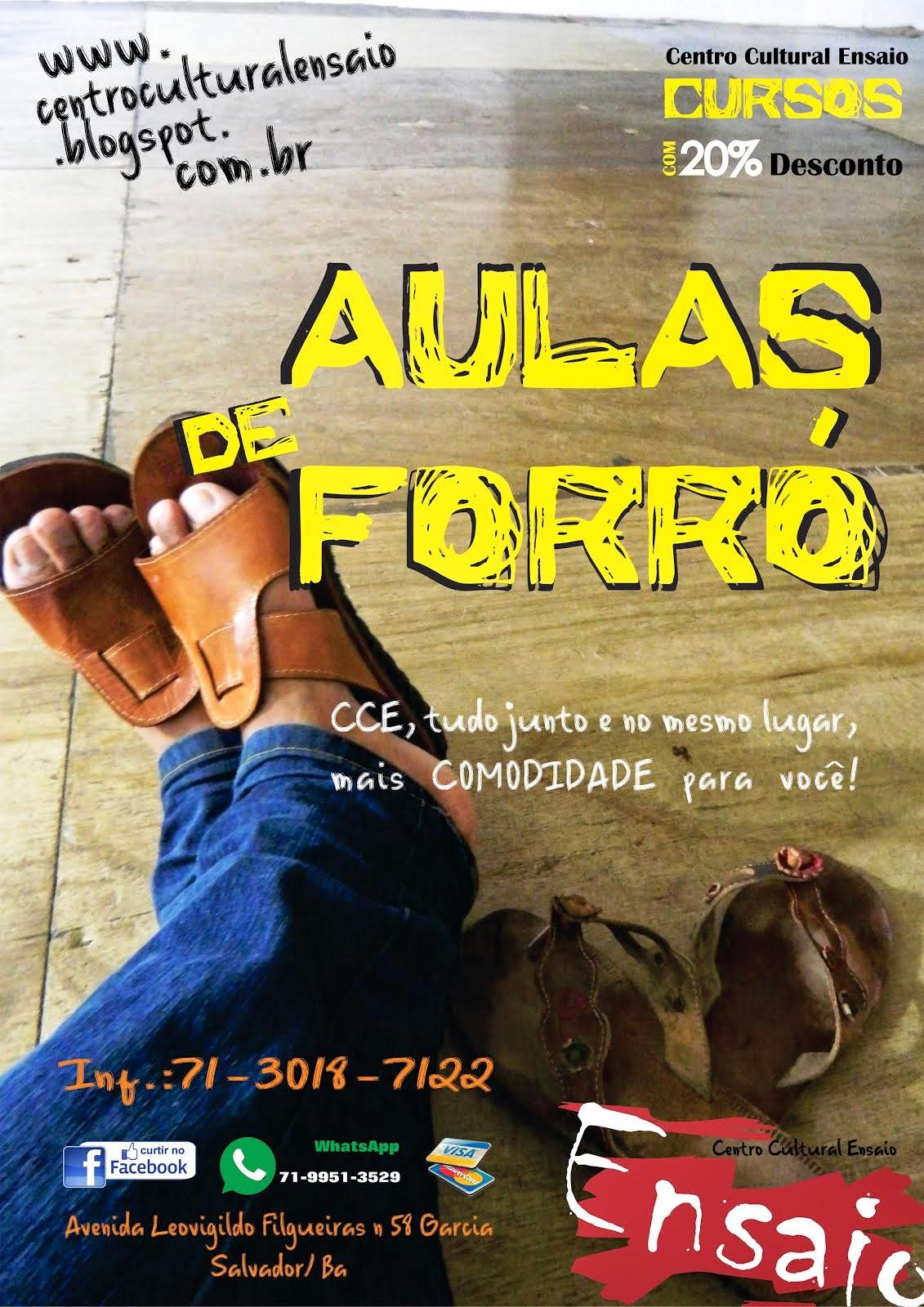 Aulas de Forró