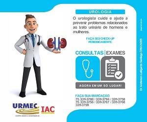 Urologia na Urmec, agora consultas e exames em um só lugar. Faça sua marcação!