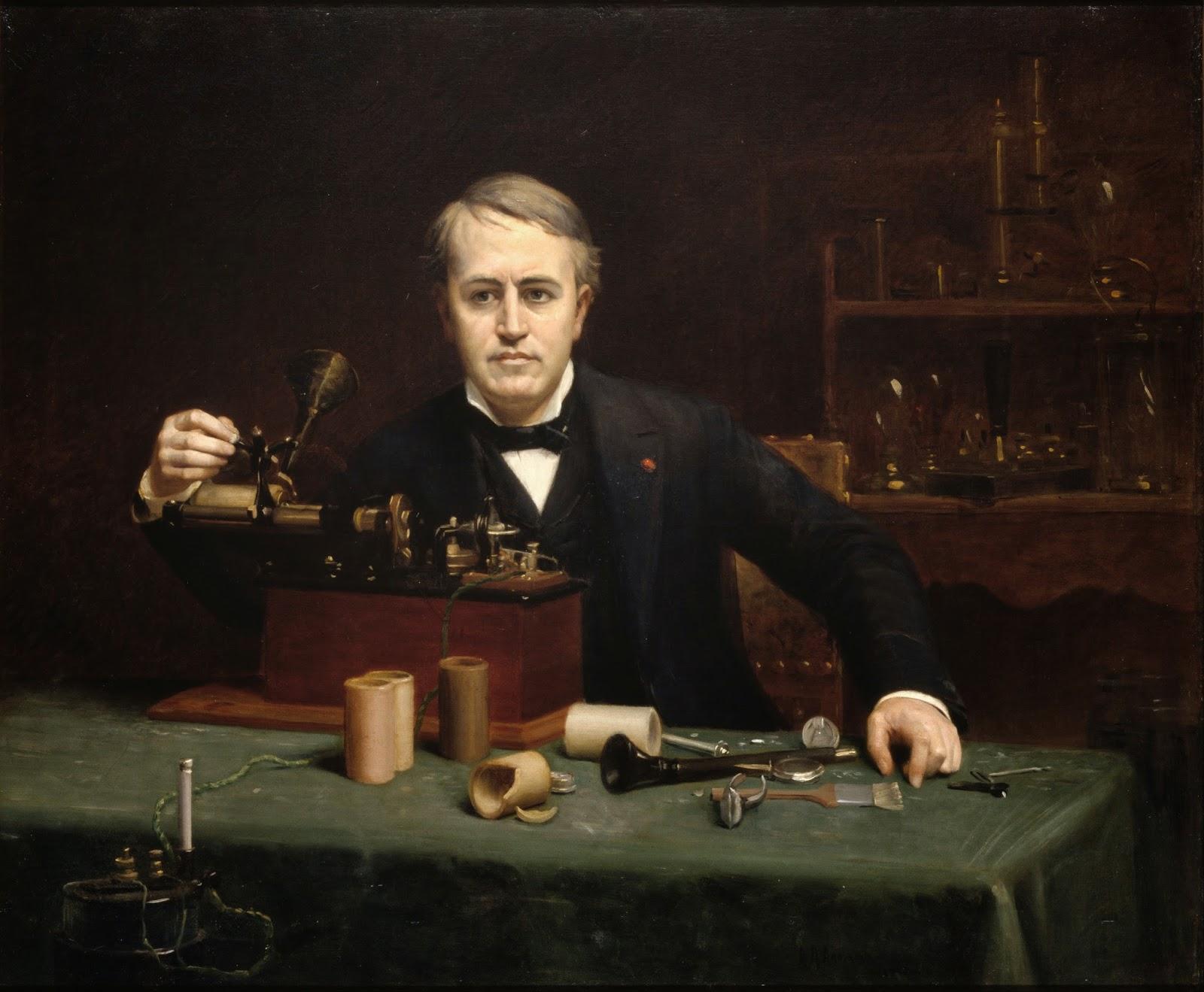 Masa Kecil Thomas Alva Edison Yang Dianggap Tuli dan Bodoh