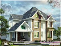 European Model House Construction In Kerala - Home