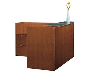 Jade Reception Desk by Cherryman
