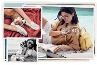 TOD'S WOMEN SS2018 AD CAMPAIGN