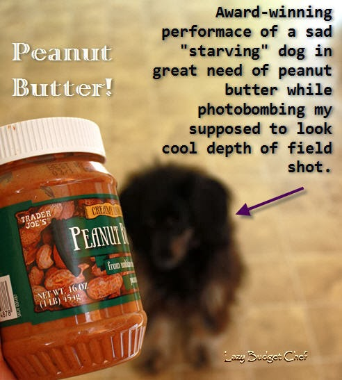 16 oz jar of peanut butter