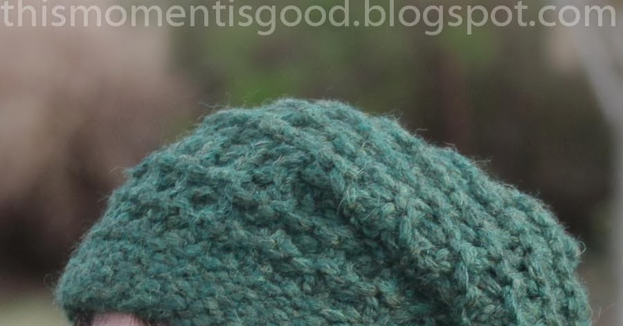 Loom Knitting Stitches Too Loose : Loom Knitting by This Moment is Good!: LOOM KNIT LACE & RIDGE SLOUCH HAT ...