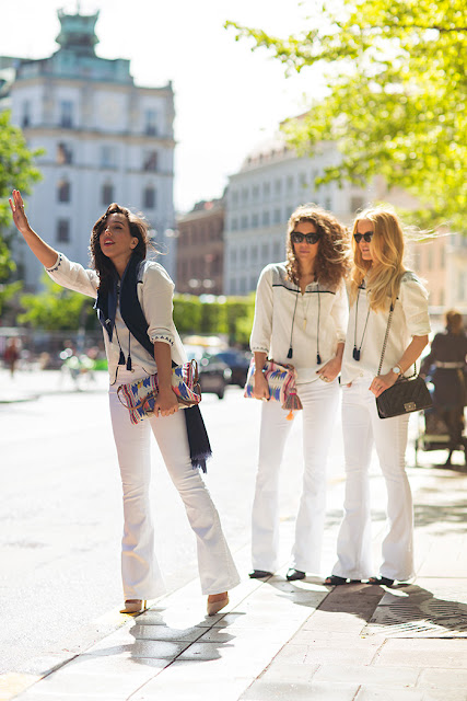 flare jeans street style 2015