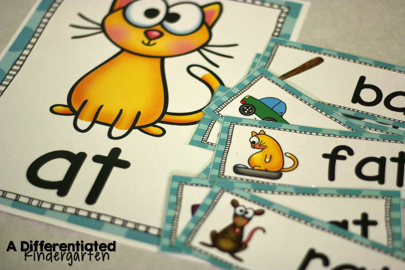 Kindergarten Word Family Instruction