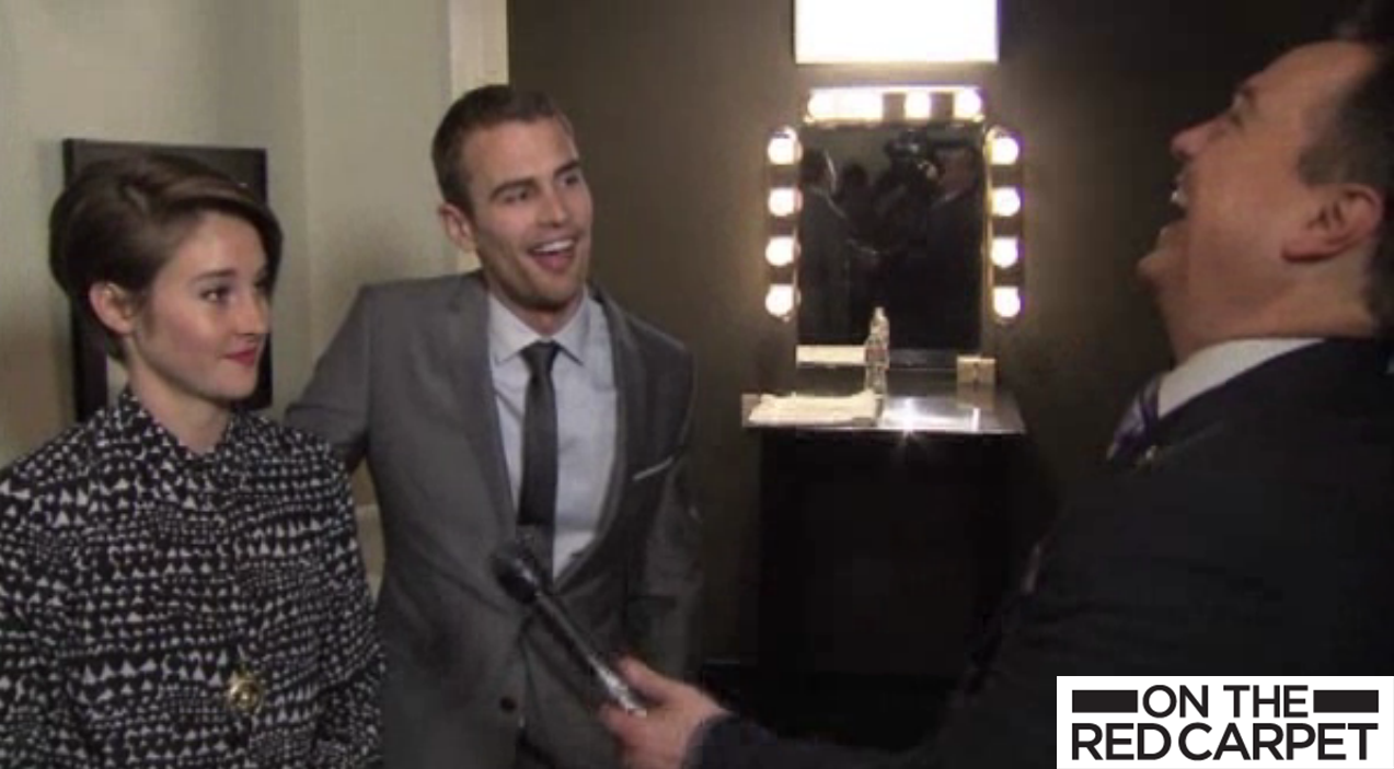The ergent life shailene woodley and theo james talk ergent