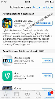 imagen de la actualizacion de dragon city ios centro de actualizaciones