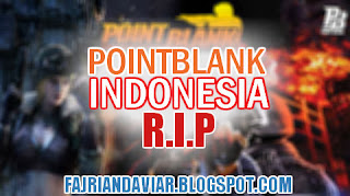 Game Point Blank Akan di Tutup