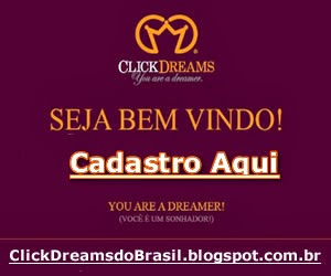 Fazer seu Cadastro na ClickDreams Brasil