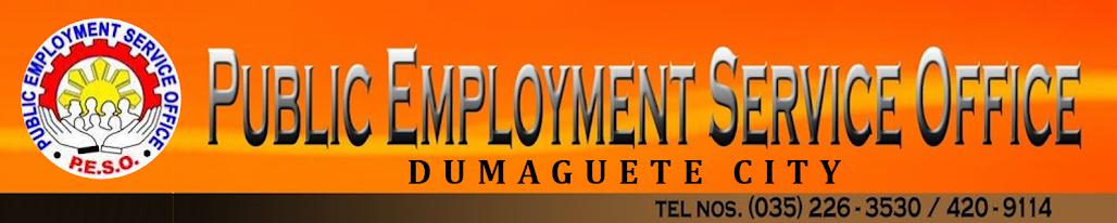 Public Employment Service Office - Dumaguete City