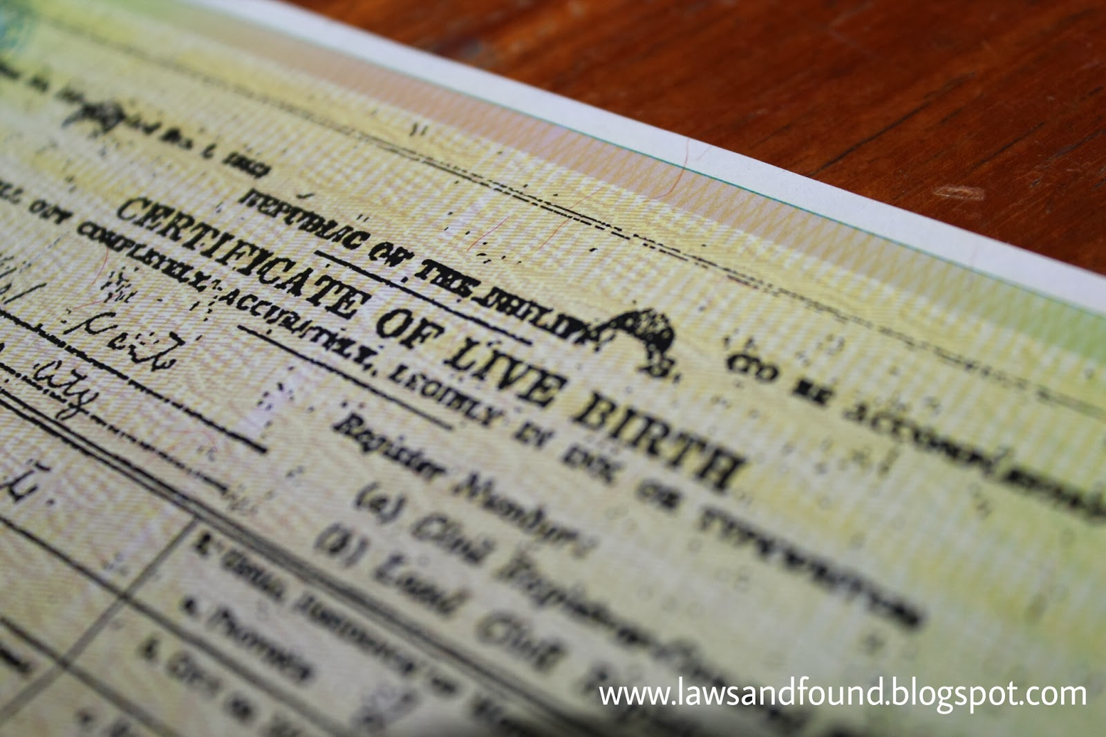 Laws And Found How To Correct Birth Certificate Clerical Entry