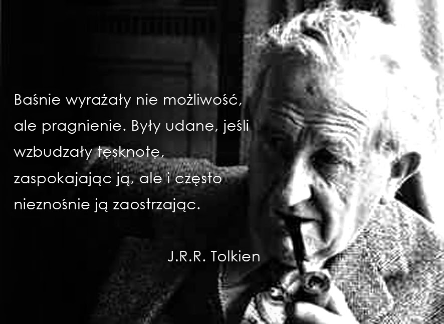 J.R.R. Tolkien, baśnie i Tolkien, hobbit i baśnie, Fantazja, fantazjowanie, Baśnie na warsztacie,