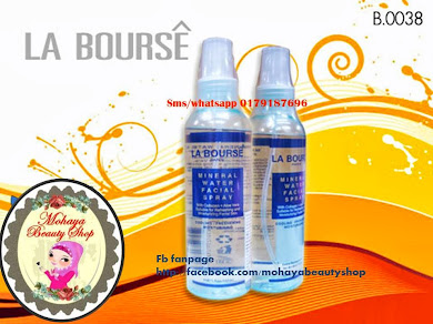 LA BOURSE SKIN CARE MINERAL FACIAL SPRAY