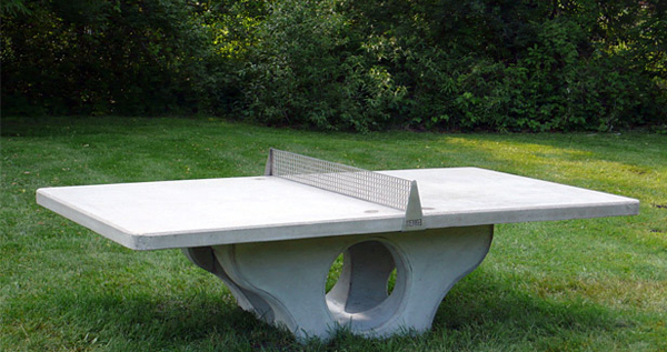 Henge Outdoor Ping Pong Table | Cool Sh*t You Can Buy   Find Cool Things To  Buy