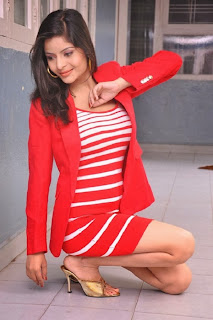 Gehana Vasist in Red (47)