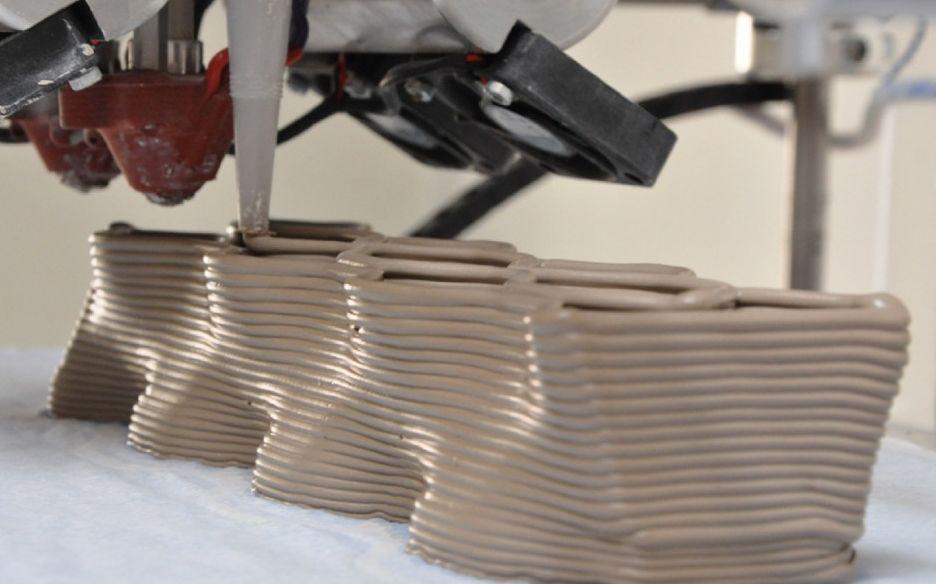 Arredo in mattoni in ceramica stampata for Construye tu casa en 3d
