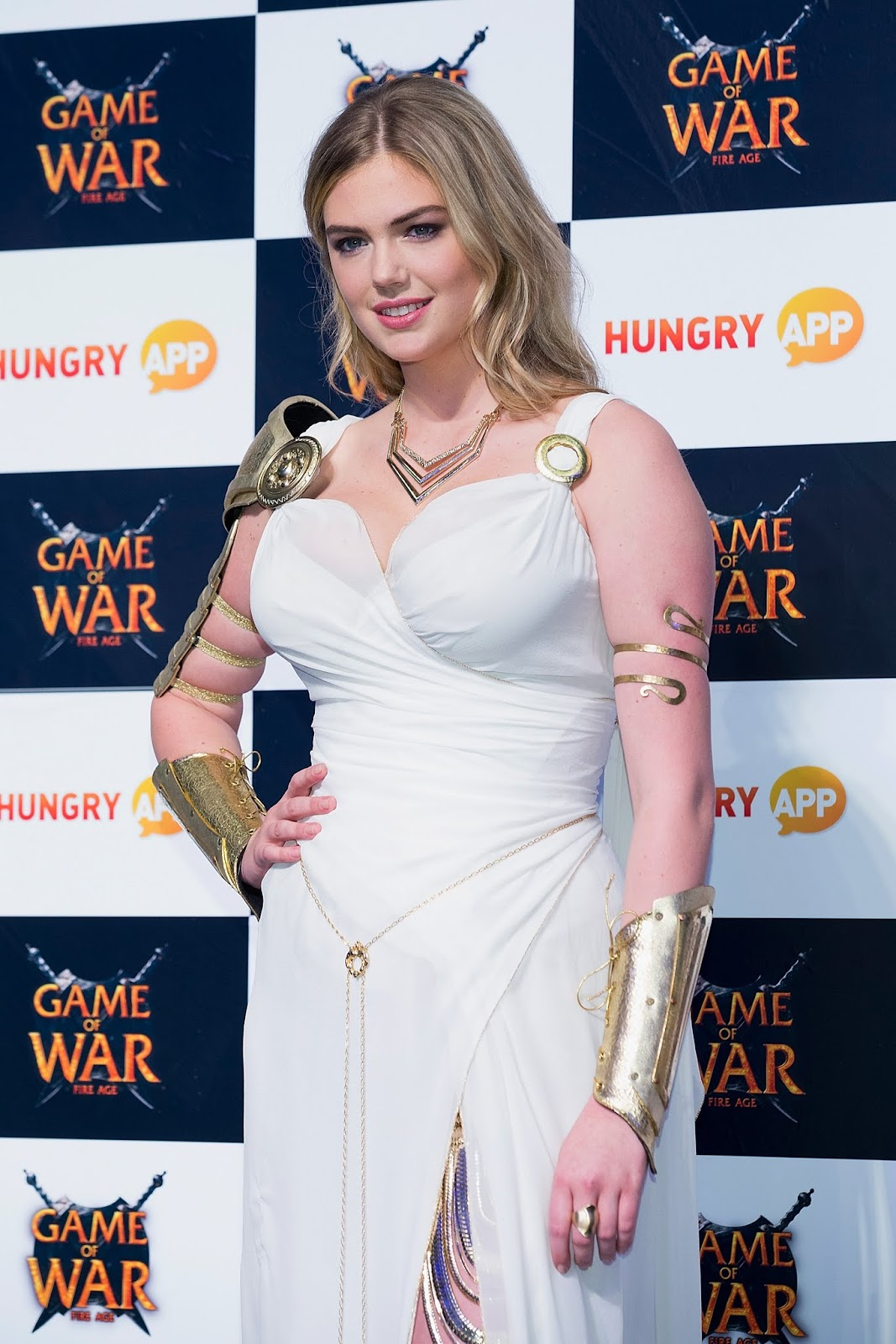 Kate upton game of war fire age promotional event busan south korea 11