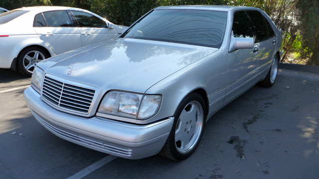 Mercedes benz s600 w140 silver on amg rims 18inch benztuning for Mercedes benz s600 amg