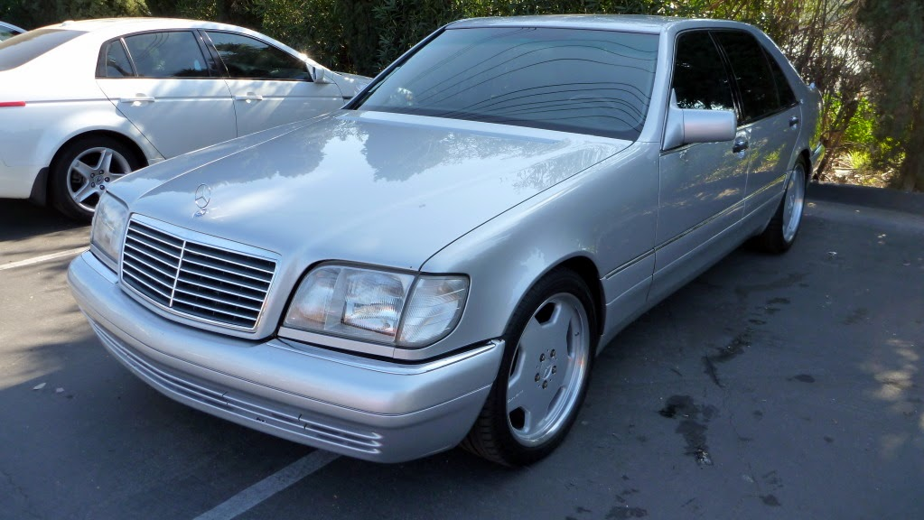 Mercedes benz s600 w140 silver on amg rims 18inch benztuning for Mercedes benz s 600 amg