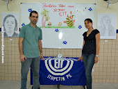 organizadores da exposição de artes ETT