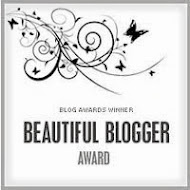<b>Winner, Beautiful Blogger Award</b>