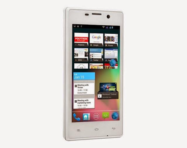 Harga Dan Spesifikasi Polytron Wizard Quadra S W7451 Terbaru, IPS-LCD Capacitive Touchscreen Serta CPU Qual-Core